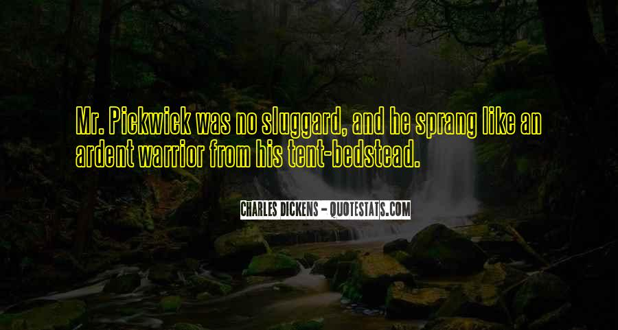 Dickens Pickwick Quotes #429994