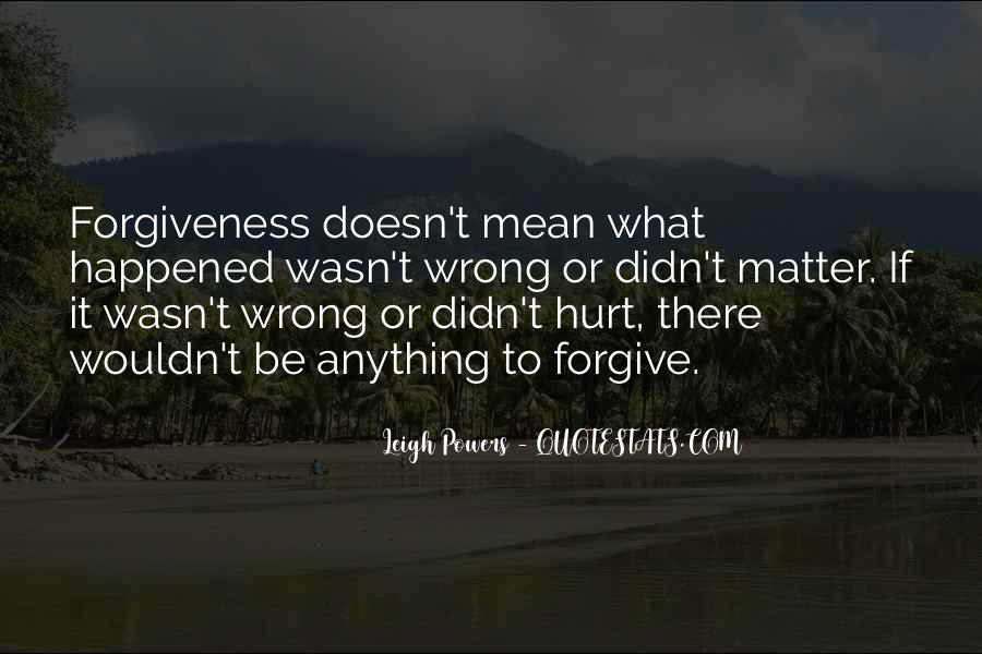 Didn't Mean To Hurt Quotes #1002343