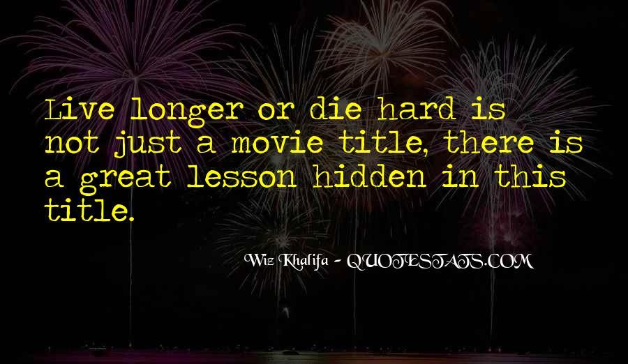 Die Hard 5 Movie Quotes #1741796