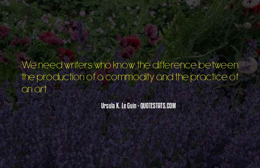 Difference Between Need And Want Quotes #1279037