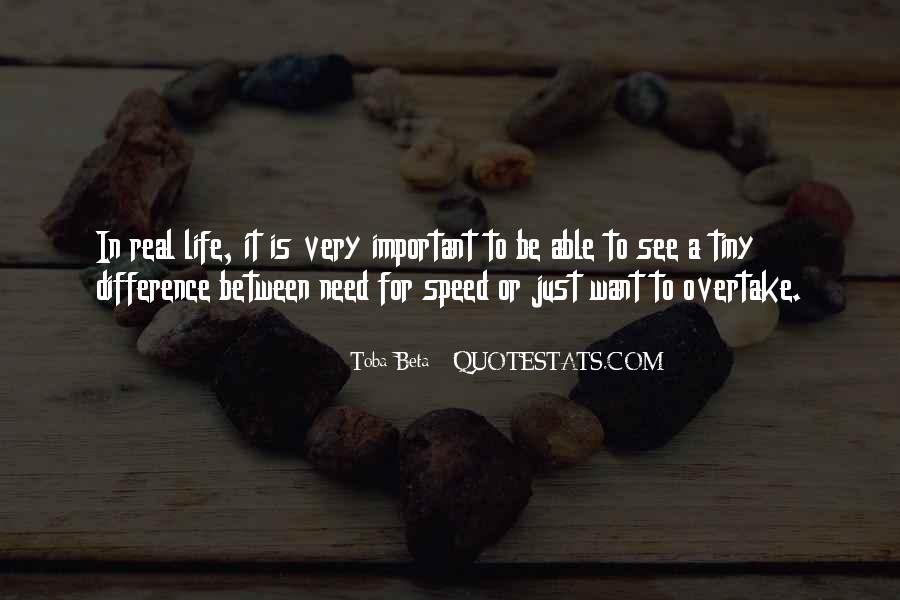 Difference Between Need And Want Quotes #560834