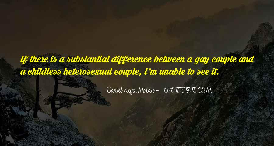 Difference In Couple Quotes #353118
