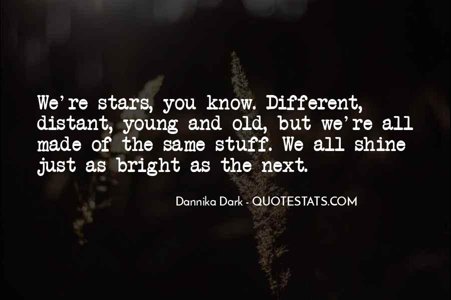 Different But Unique Quotes #1603988