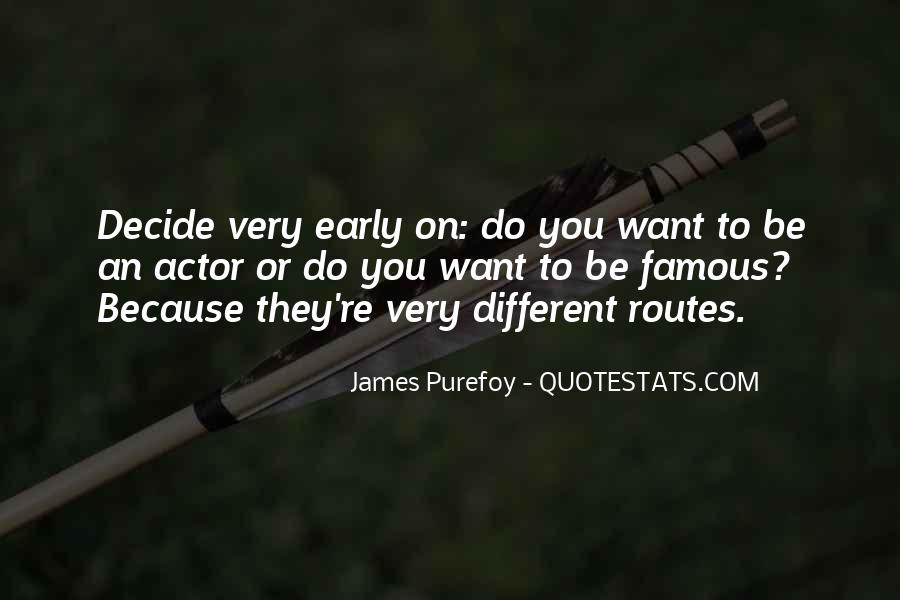 Different Routes Quotes #1862647