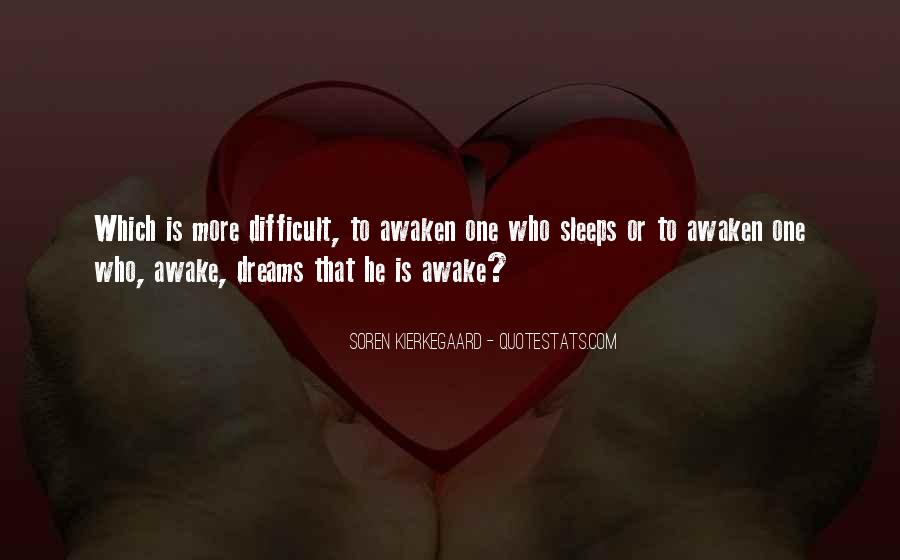 Difficult To Sleep Quotes #321634