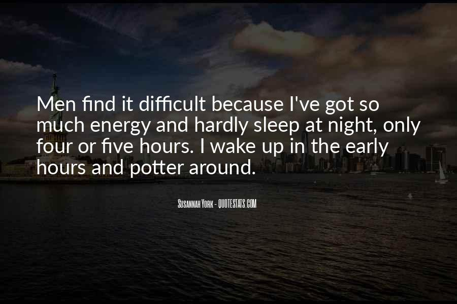 Difficult To Sleep Quotes #651514