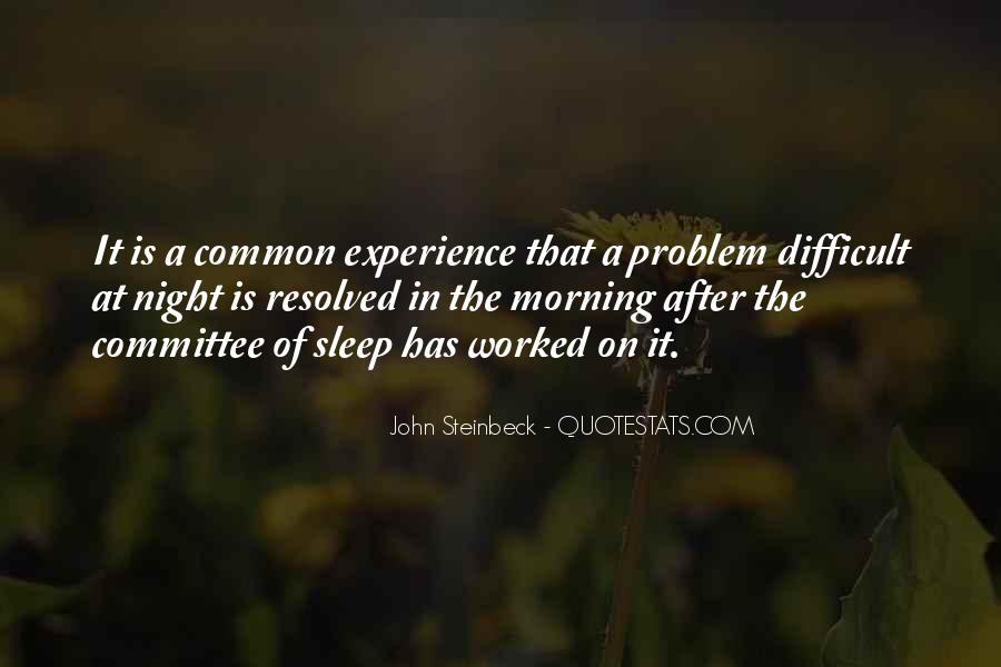 Difficult To Sleep Quotes #869164