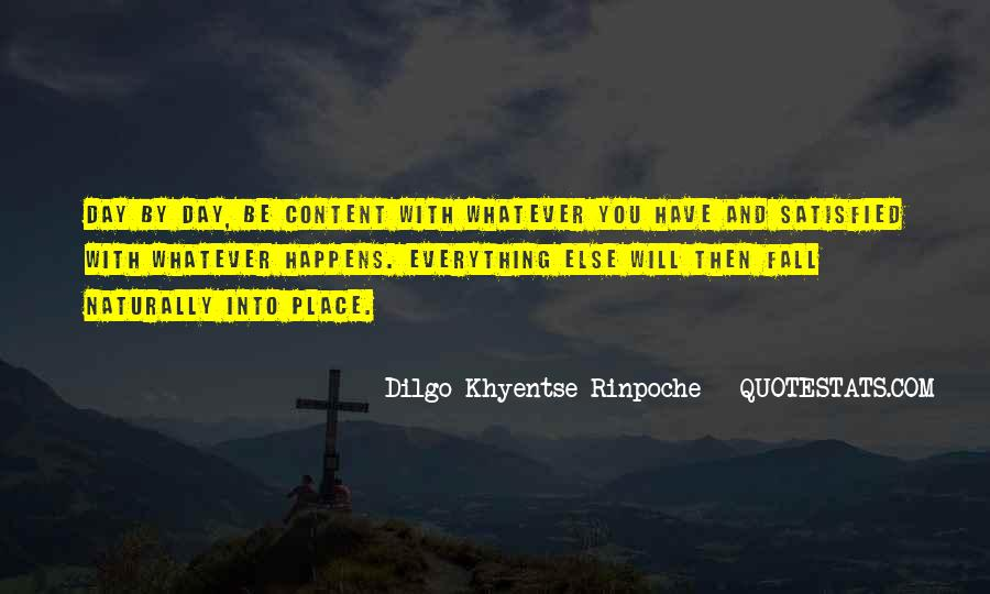 Dilgo Rinpoche Quotes #1277083
