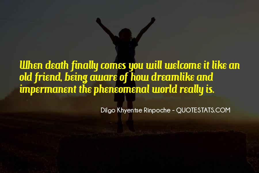 Dilgo Rinpoche Quotes #1613411