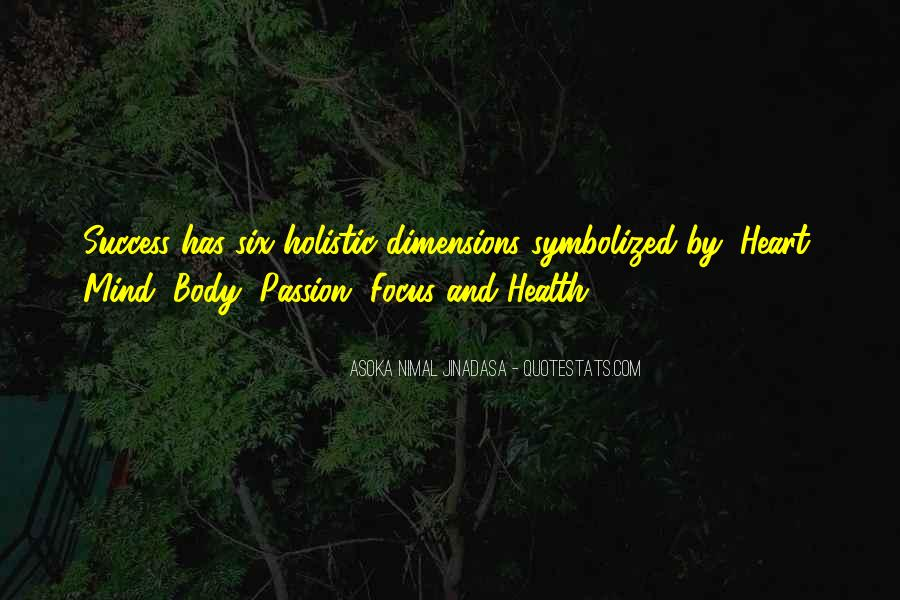 Dimensions Of Health Quotes #1552718