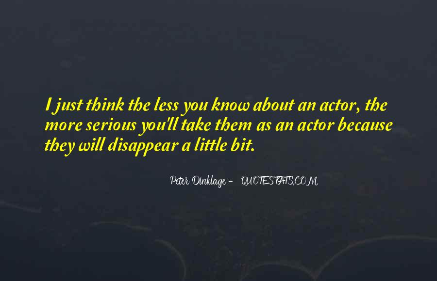 Dinklage Quotes #1411289