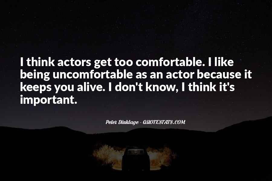 Dinklage Quotes #191812