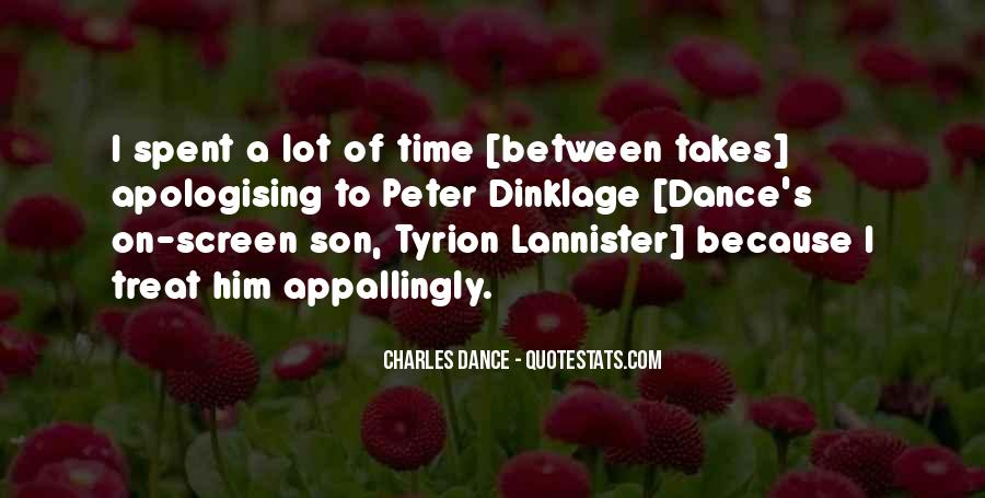 Dinklage Quotes #614190