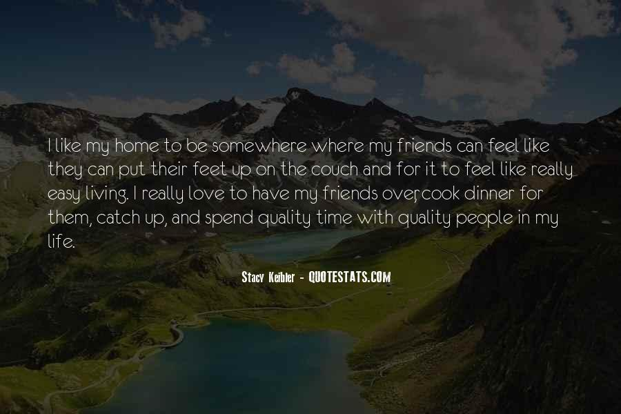 Dinner Time With Friends Quotes #516351