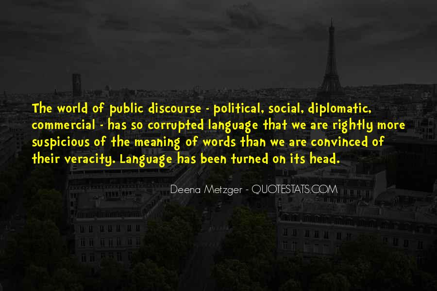 Diplomatic World Quotes #1612794