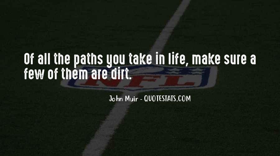 Dirt Path Quotes #918703