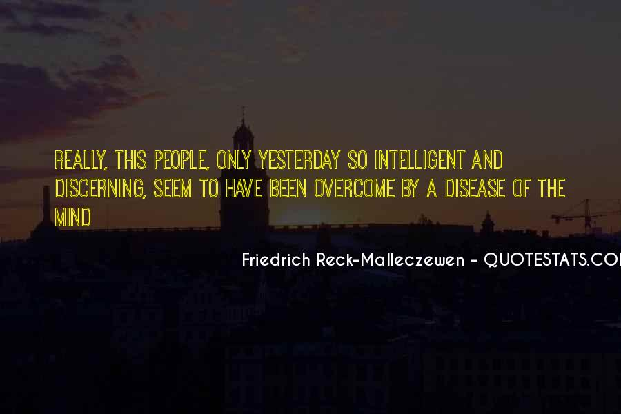 Discerning Mind Quotes #1412823