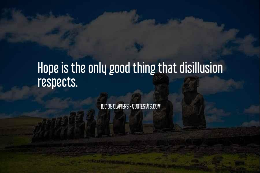 Disillusion Quotes #486608