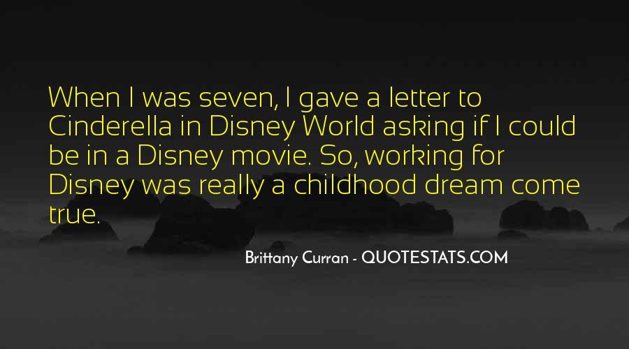 Disney Movie Quotes #1594218