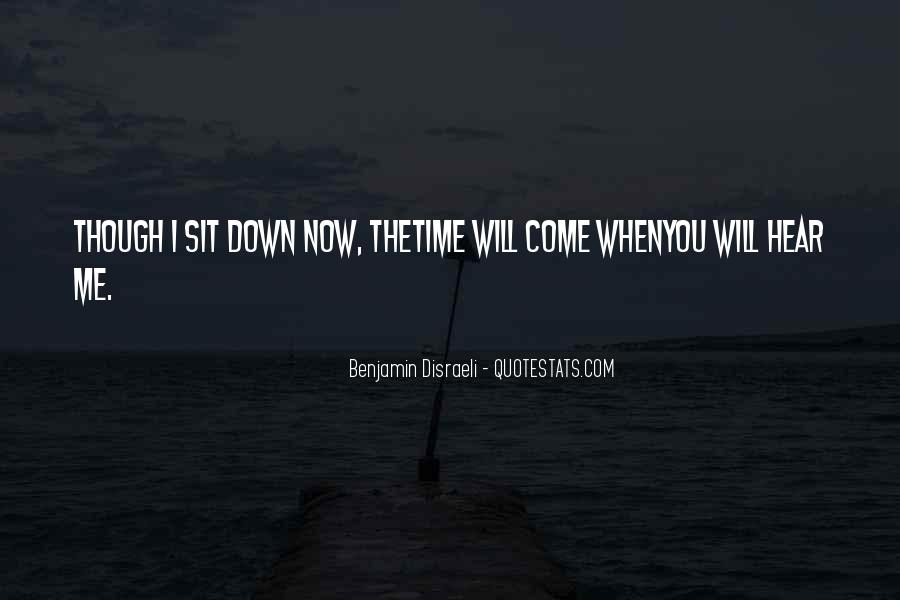 Disraeli Benjamin Quotes #102804