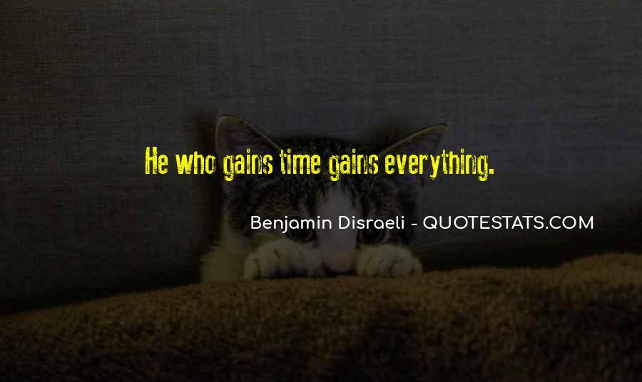 Disraeli Benjamin Quotes #140363