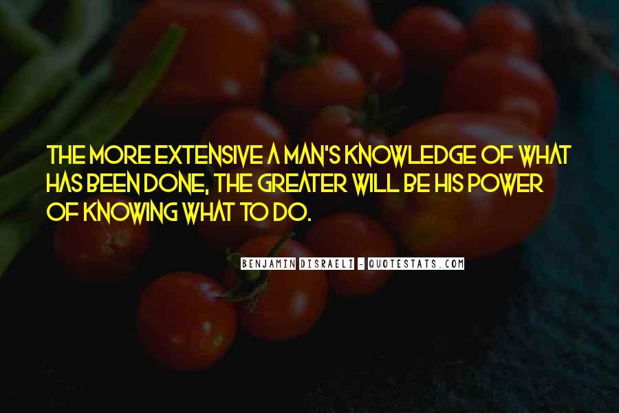 Disraeli Benjamin Quotes #141733
