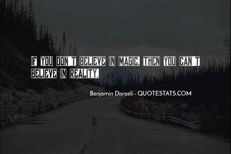 Disraeli Benjamin Quotes #158992