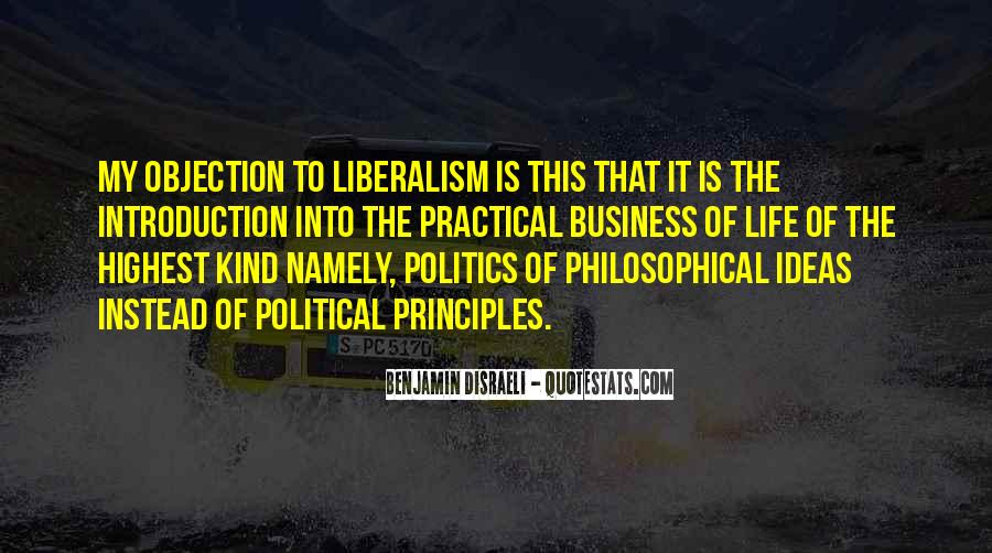 Disraeli Benjamin Quotes #171341