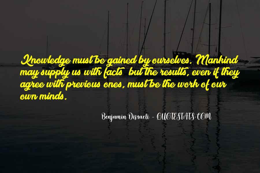 Disraeli Benjamin Quotes #189095