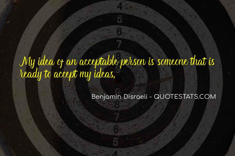 Disraeli Benjamin Quotes #193193