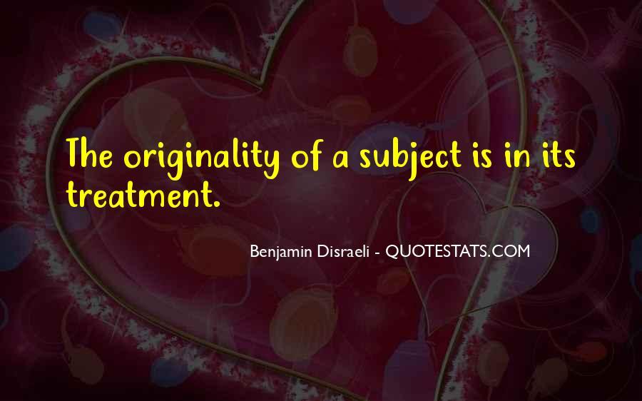 Disraeli Benjamin Quotes #212427