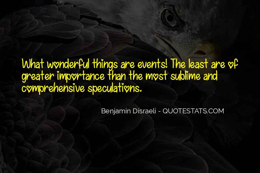 Disraeli Benjamin Quotes #230275