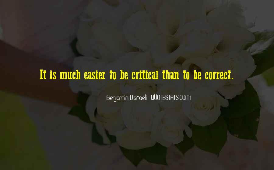 Disraeli Benjamin Quotes #246649
