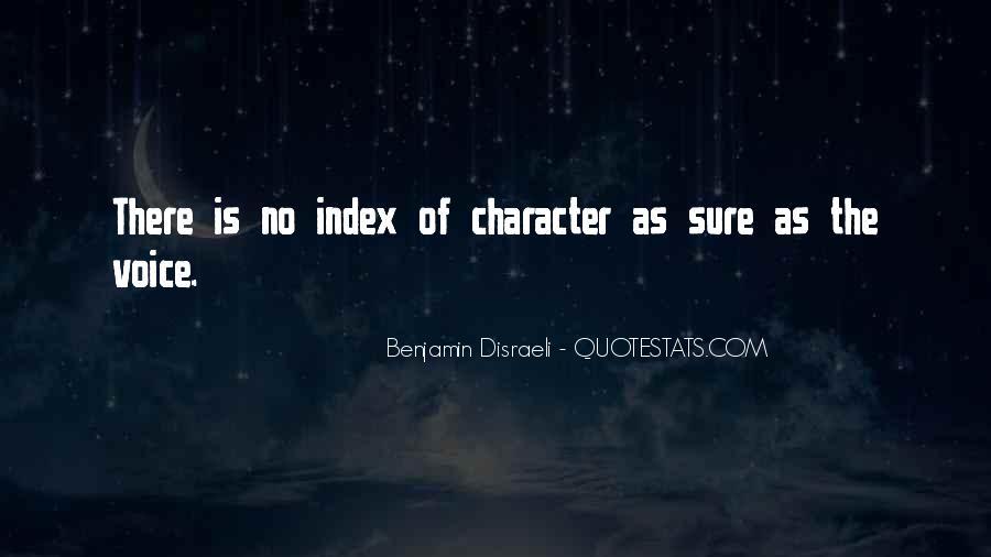 Disraeli Benjamin Quotes #252982
