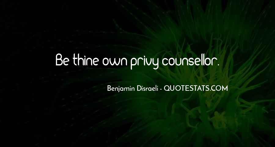 Disraeli Benjamin Quotes #276032