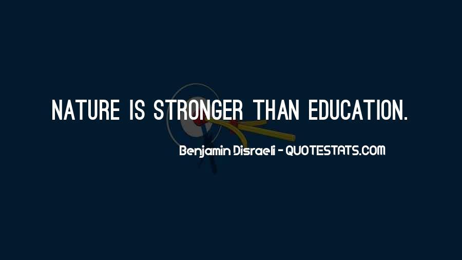 Disraeli Benjamin Quotes #298330