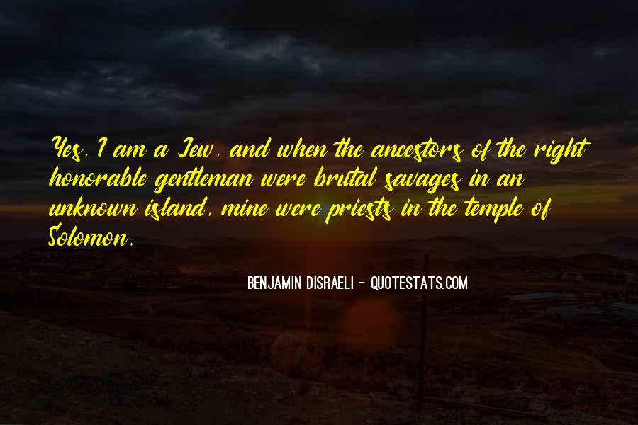 Disraeli Benjamin Quotes #315575