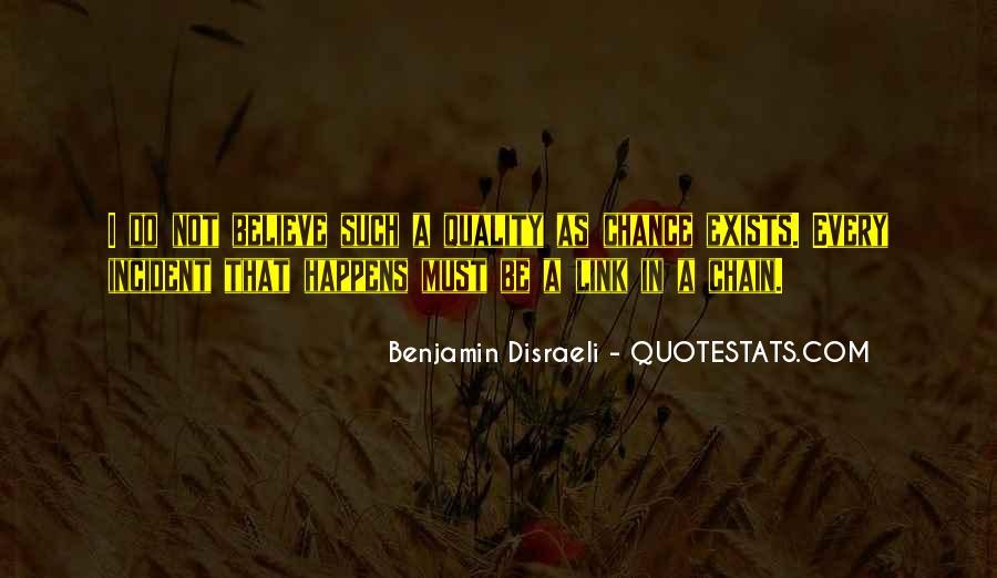 Disraeli Benjamin Quotes #337687