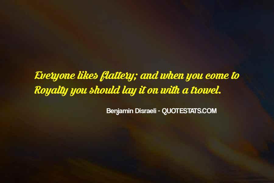 Disraeli Benjamin Quotes #34781