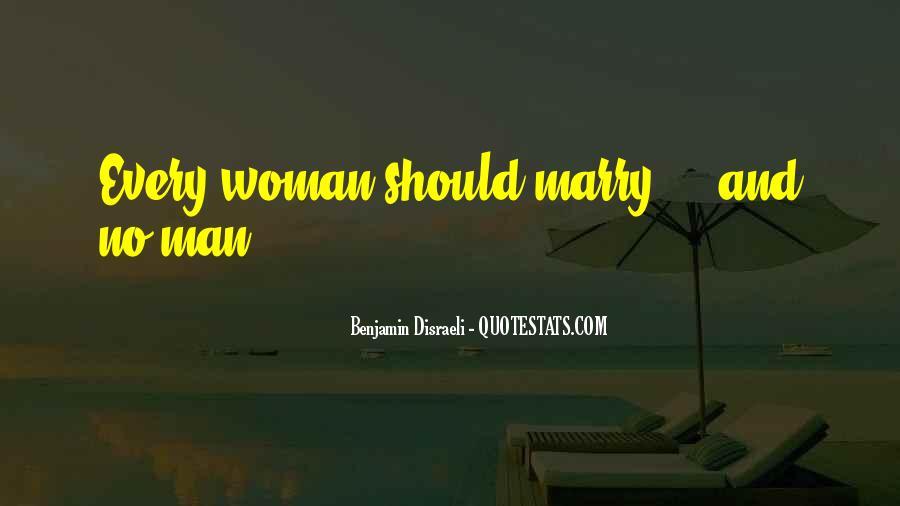 Disraeli Benjamin Quotes #375