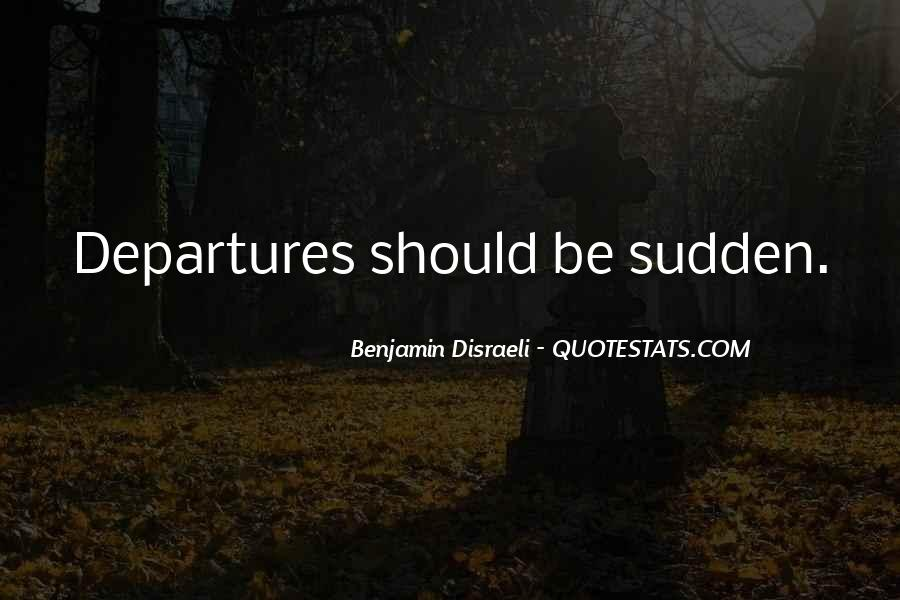 Disraeli Benjamin Quotes #41058