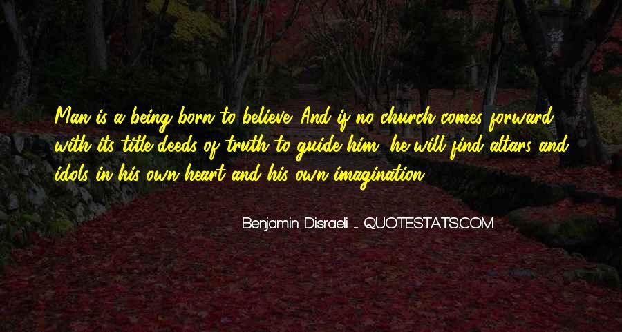 Disraeli Benjamin Quotes #49553