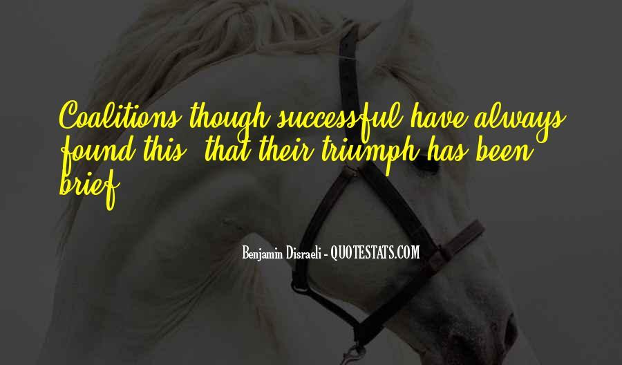Disraeli Benjamin Quotes #63647