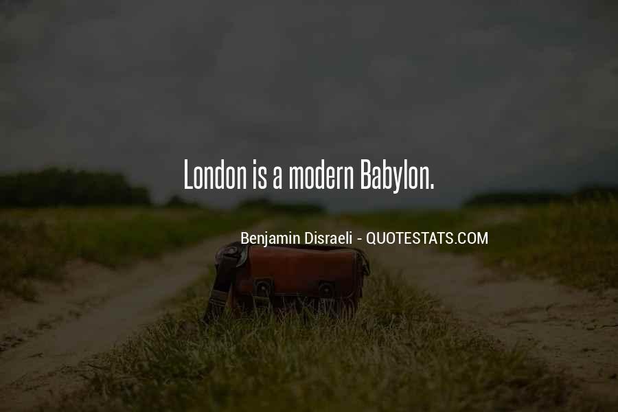 Disraeli Benjamin Quotes #76798