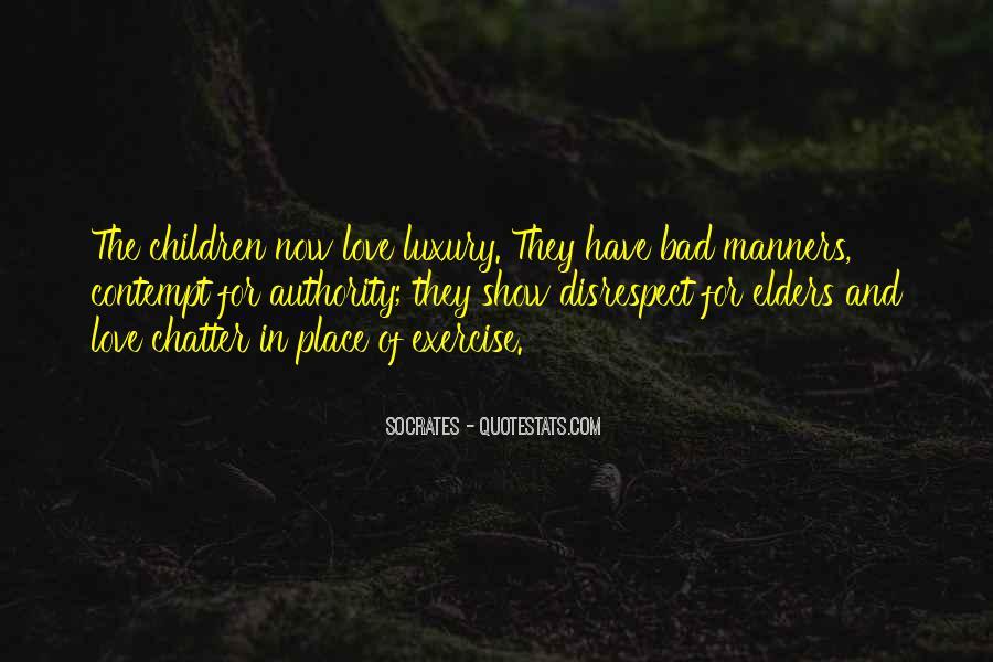 Disrespect Love Quotes #518087