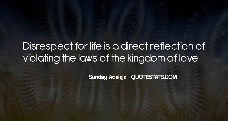 Disrespect Love Quotes #635142