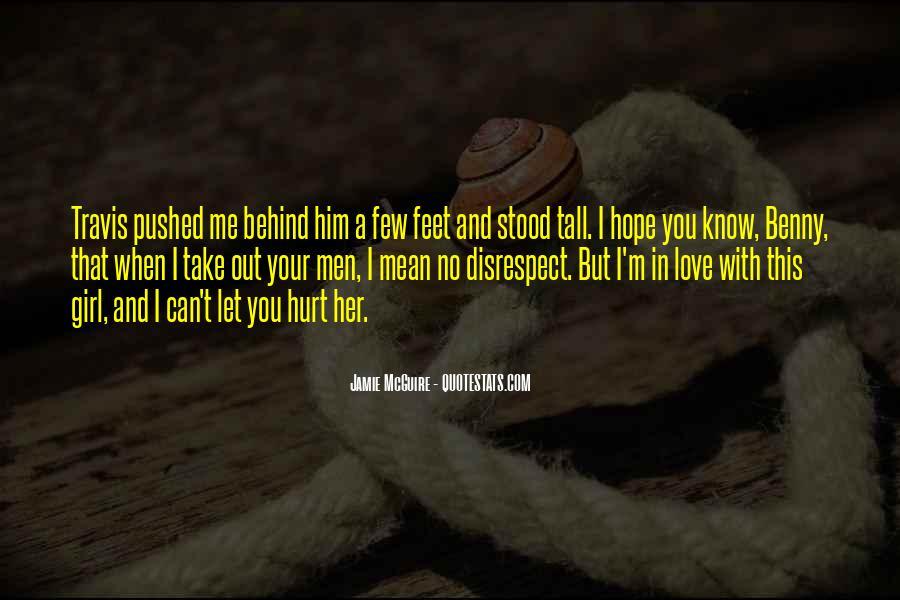 Disrespect Love Quotes #712637