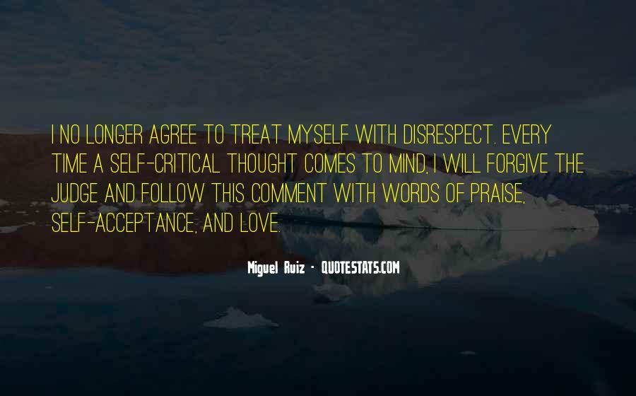Disrespect Love Quotes #754051
