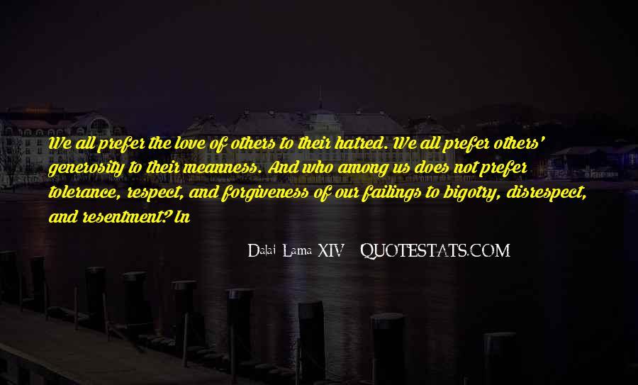 Disrespect Love Quotes #818147