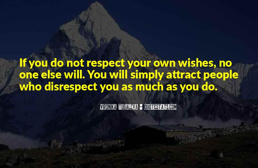 Disrespect Love Quotes #937937